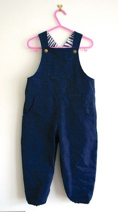 How to make dungarees for toddlers