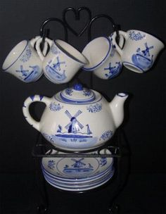 cute little tea set