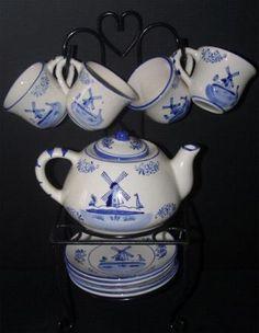 cute little tea set