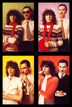 Ron and Russell Mael aka Sparks 70s Music, Music Icon, Glam Rock, Sparks Band, Groupe Pop Rock, Boys Keep Swinging, New Wave, Pop Rocks, Celebs