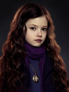 Born on September 11, 2006 Renesmee  Carlie Cullen is the resident vampire/human hybrid member of the Olympic coven. She is the daughter of Edward and Bella Cullen, and the imprintee of Jacob Black. Renesmee's biological paternal grandparents are Edward Sr. and Elizabeth Masen, while on the maternal side, they are Charlie Swan and Renée Dwyer. She is also the adoptive granddaughter of Carlisle and Esme Cullen and the adoptive niece of Jasper and Rosalie Hale, and Alice and Emmett Cullen.