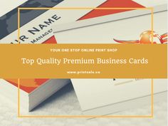 Standard business cards printsale pinterest card printing the perfect way to create your impression printsales premium business cards reheart Choice Image