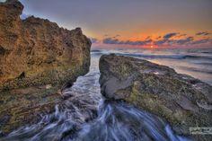 golden sunrise at coral cove park | Jupiter Island Sunrise at Coral Cove Park