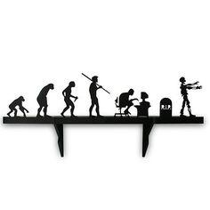 PRATELEIRA EVOLUÇÃO ZUMBI