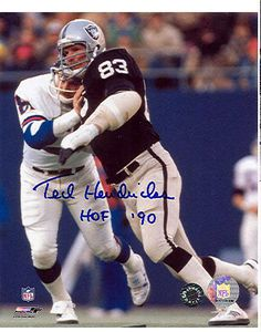 Ted Hendricks Oakland Raiders - Action - Autographed Photograph with HOF 90 Inscription Okland Raiders, Oakland Raiders Logo, Raiders Baby, Raiders Football, Nfl Football, American Football, Football Stuff, John Matuszak, Oakland Raiders Wallpapers