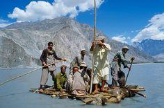 """Pakistańska """"łódź"""""""