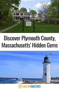 Plymouth County, Massachusetts is a great travel destination all year but it's perfect for family-friendly summer fun. Discover hidden gems including historic homes, charming lighthouses, whale watching tours, museums, and more. Summer Travel, Summer Fun, Best Bucket List, Whale Watching Tours, Cedar Point, Hidden Beach, Historical Architecture, Haunted Places, Historic Homes