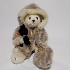 Bearington Iggy Teddy Bear Plush Jointed Eskimo With Penguin Flaws #Bearington #AllOccasion
