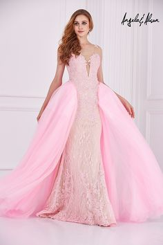 Pink/Light Blue/Green Prom Dresses 2016 Sheer Scoop Neck Beaded Lace Over Skirt Long Mermaid Plus Size Custom Made Evening Gowns-in Prom Dresses from Weddings & Events on Aliexpress.com | Alibaba Group