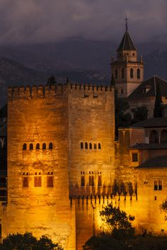 """The Tower"" - The Alhambra of Granada, Spain"