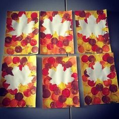 Fall Arts And Crafts, Autumn Crafts, Autumn Art, Autumn Leaves, Diy Niños Manualidades, Manualidades Halloween, Halloween Crafts, Halloween Parties, Fall Crafts For Toddlers