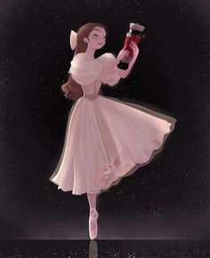 Clara and the Nutcracker ✨ I love listening to the Nutcracker ballet around this time of the year, hopefully one day I'll get to see it… Art Disney, Disney Kunst, Character Design Animation, Character Art, Pretty Art, Cute Art, Bel Art, Arte Indie, Art Mignon
