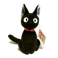 Jiji - Kiki's Delivery Service Plush Cat on www.amightygirl.com
