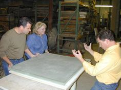 DIYNetwork.com's concrete experts show how to design, build and install a beautiful concrete countertop.