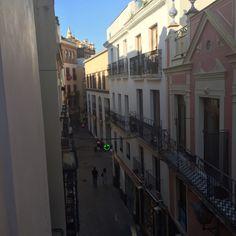 Calle Gerona in Sevilla, Andalucía  El Rinconcillo Calle Gerona 40, 41003 Sevilla  Oldest bar in town 1670 Sevillano espinacaa con garbanzos Spicy spinach and chickpeas