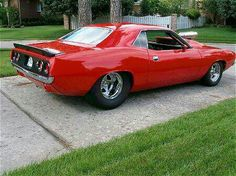 1973 Plymouth 'Cuda| Absolutely Beautiful Eh..Beep beep..Re-pin brought to you by agents of #Carinsurance at #Houseofinsurance in #Eugene/Springfield OR.