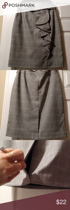 Worthington in Women Plaid Classy Skirt Lined  Worthington Small Plaid  Skirt Classy Fashion dee20127d7a19
