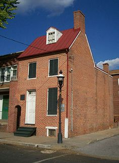 Edgar Allan Poe House and Museum in Baltimore, Maryland. Edgar Allan Poe House,