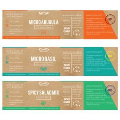 Diseños | Packaging Design for Live Microgreens (Specialty Food / Produce) | concurso Product packaging