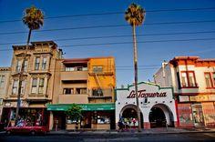 SAN FRANCISCO'S MISSION DISTRICT  La Taqueria a staple to La Mission.