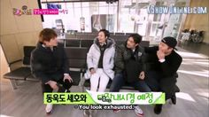 Waiting for thier physical examination..  #seho #jongok #dongwook #ryohei #sbsroommate #roommates2