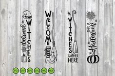 Front Door Signs, Porch Signs, Halloween Signs, Halloween Stuff, Halloween Party, Memory Album, Back Art, Scene Creator, First They Came