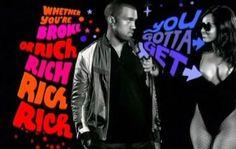 Bright bouncy Typography lyrics . Black and white live action motif . Blackboard .