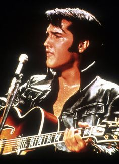 Elvis at his sweaty live best in the late 1960s