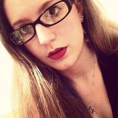 Blonde w/Glasses