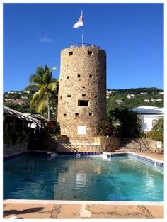 Blackbeard's Castle named for the pirate who frequently visited St. Thomas.