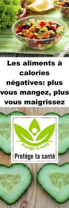 Les aliments à calories négatives: plus vous mangez, plus vous maigrissez Cold Treatment, 100 Calories, Week Diet, Food Videos, The Cure, Food And Drink, Lose Weight, Health Fitness, Yummy Food