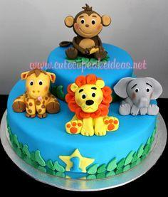 How to Make a Lion Topper Tutorial - Part 2 Cute Cupcake Ideas