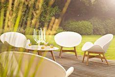 Gartenmöbel Teakholz gemütliche Sitzgruppe Tisch