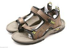 abd54cd5dbd8 TEVA mens sandals Size 13 brown suede waterproof river water sport shoes   Teva  SportSandals