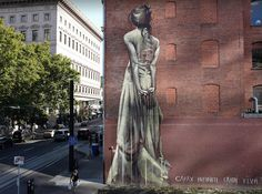street art  Street Art by Faith 47 in Portland USA 2