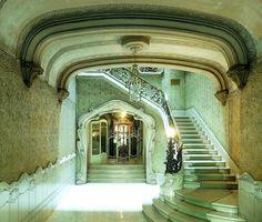 Barcelona - Ausiàs Marc 020 f03 by Arnim Schulz  Via Flickr:  Casa Manuel Felip (I) 1901 Architect: Telm Fernández i Janot @kendrasmiles4u
