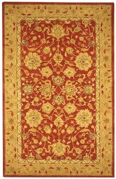 $138.70-$204.00 Baby The Anatolia Collection evokes the old world style and quality with modern hand tufting techniques. These rugs bring traditional sophistication and the authentic look and feel of rugs from the Anatolia region. These rugs are made from 100-percent premium, hand-spun wool, and employ ancient pot-dying techniques to give them their authentic look. The soft palettes and open fie ...