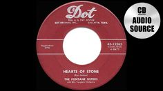 1955 HITS ARCHIVE: Hearts Of Stone - Fontane Sisters (a #1 record)