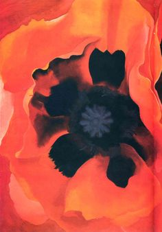 Georgia O'Keeffe. Poppy 2. Paintings 062.jpgshe remained independent from shifting art trends and stayed true to her own vision, which was based on finding the essential, abstract forms in nature.