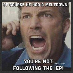 Funny Memes About IEPs | The Mighty