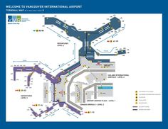 Map Of Vancouver Airport | My Blog