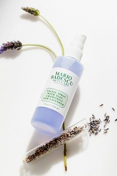 Shop Mario Badescu Facial Spray With Aloe, Chamomile And Lavender 4 oz at Urban Outfitters today. Mario, Face Spray, Aqua, Nude Eyeshadow, Lavender Oil, Beauty Blender, Skin Problems, The Balm, Skin Care