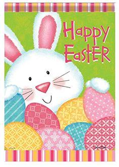 "Happy Easter Bunny & Eggs Decorative Double Side 28"" X 40"" House Garden Flag Flag Trends http://www.amazon.com/dp/B00P2H6KTG/ref=cm_sw_r_pi_dp_-KOZub1NGMA82"