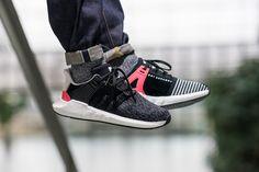 On-Foot: adidas EQT Support 93/17 'Turbo Red' - EU Kicks: Sneaker Magazine