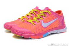 Womens Nike Free Tr Fit Bright Mango Peachblow Yellow Training Shoes For Wholesale Kobe 9 Shoes, Nike Soccer Shoes, Nike Shoes Cheap, Cheap Nike, Yellow Sneakers, Sneakers Nike, Nike Free Run 3, Training Shoes, Buy Shoes