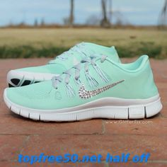 Nike Sneakers - Women's Nike Free 5.0+ tiffany blue shoes | #kicksruns com      #Fashion Gril's #Sneakers 2014 Summers