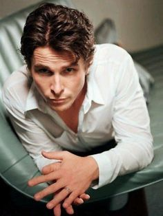 Christian Bale in a 2003 photoshoot Christian Bale, Batman Begins, Hollywood Actor, Hollywood Celebrities, Chris Bale, Most Handsome Men, British Actors, American Actors, Attractive Men