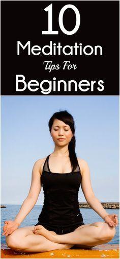 10 Important #Meditation Tips For Beginners. #breathe Explore http://yogacurious.com/blog/