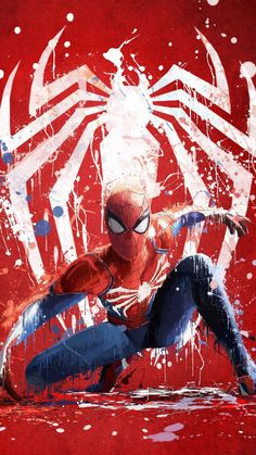 This is the first breakthrough and most anticipated for marvel spiderman game ever since the previous games were biggest flop. Marvel Comics, Marvel Art, Marvel Heroes, Marvel Avengers, Spiderman Marvel, Spiderman Poster, Films Marvel, Parker Spiderman, Spiderman Ps4 Wallpaper