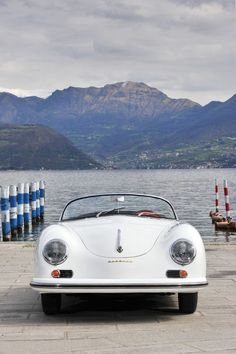 Wow! #Porsche 356A Carrera 1500 Speedster - bringing to you in your wedding in style.